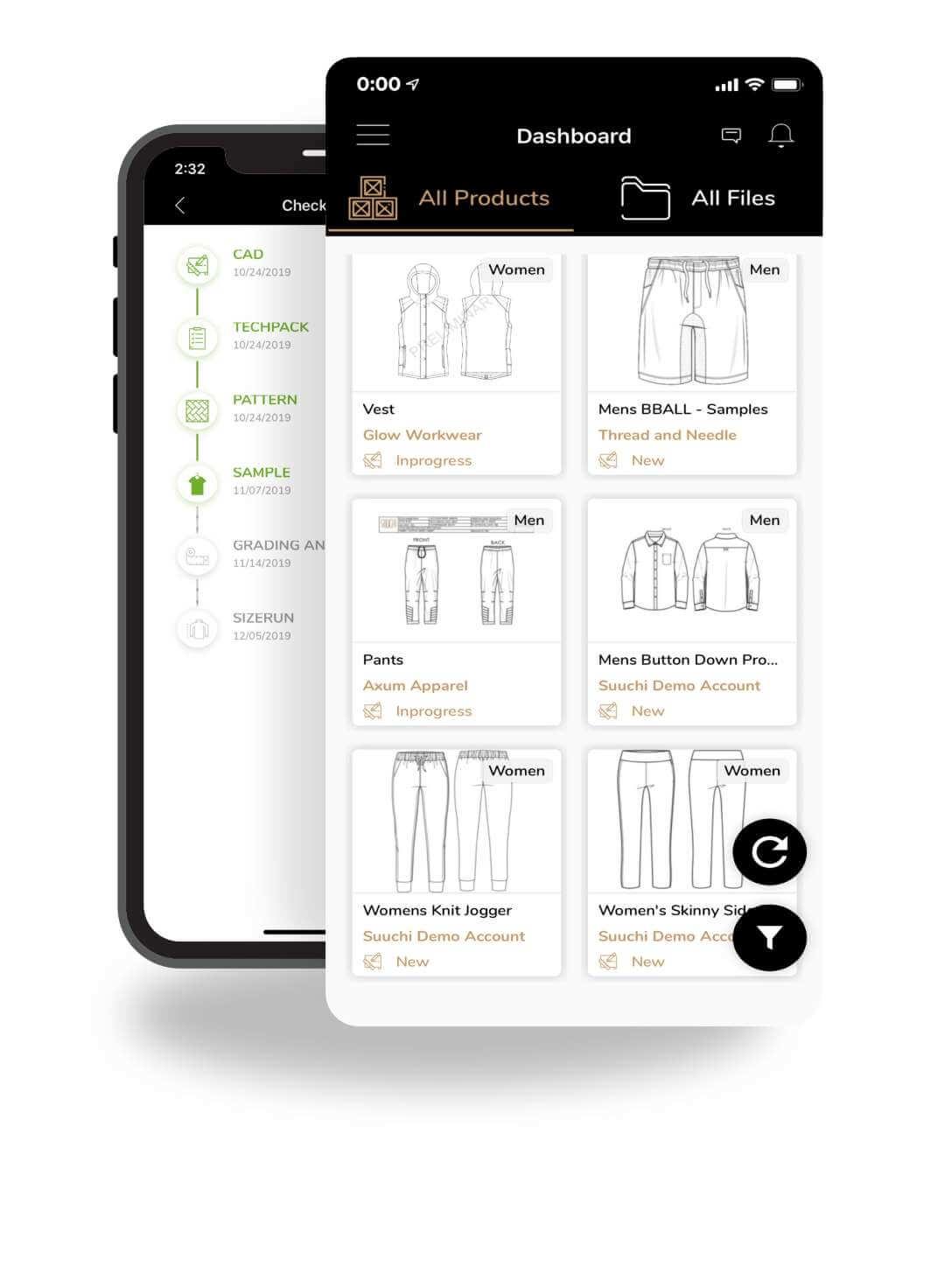 Suuchi GRID interface demo