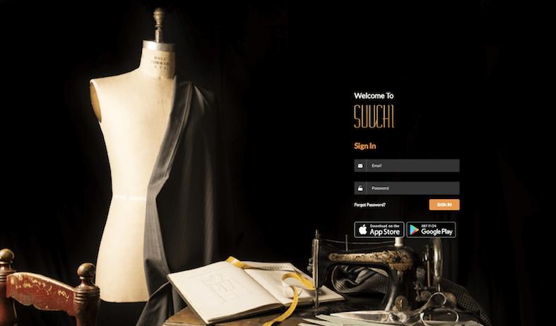 The Suuchi GRID login page