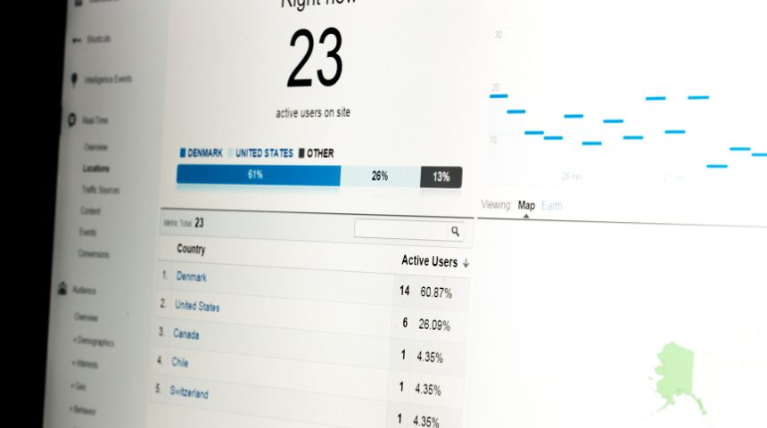 Website data and analytics