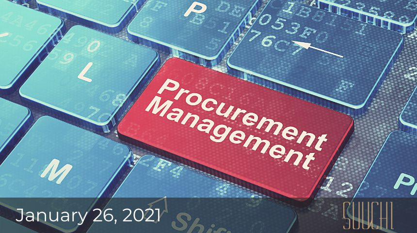 procurement management scm software